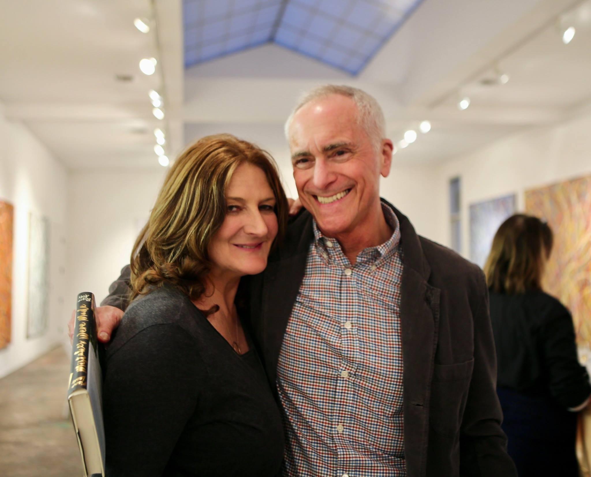 Kathryn Ireland and writer A Scott Berg
