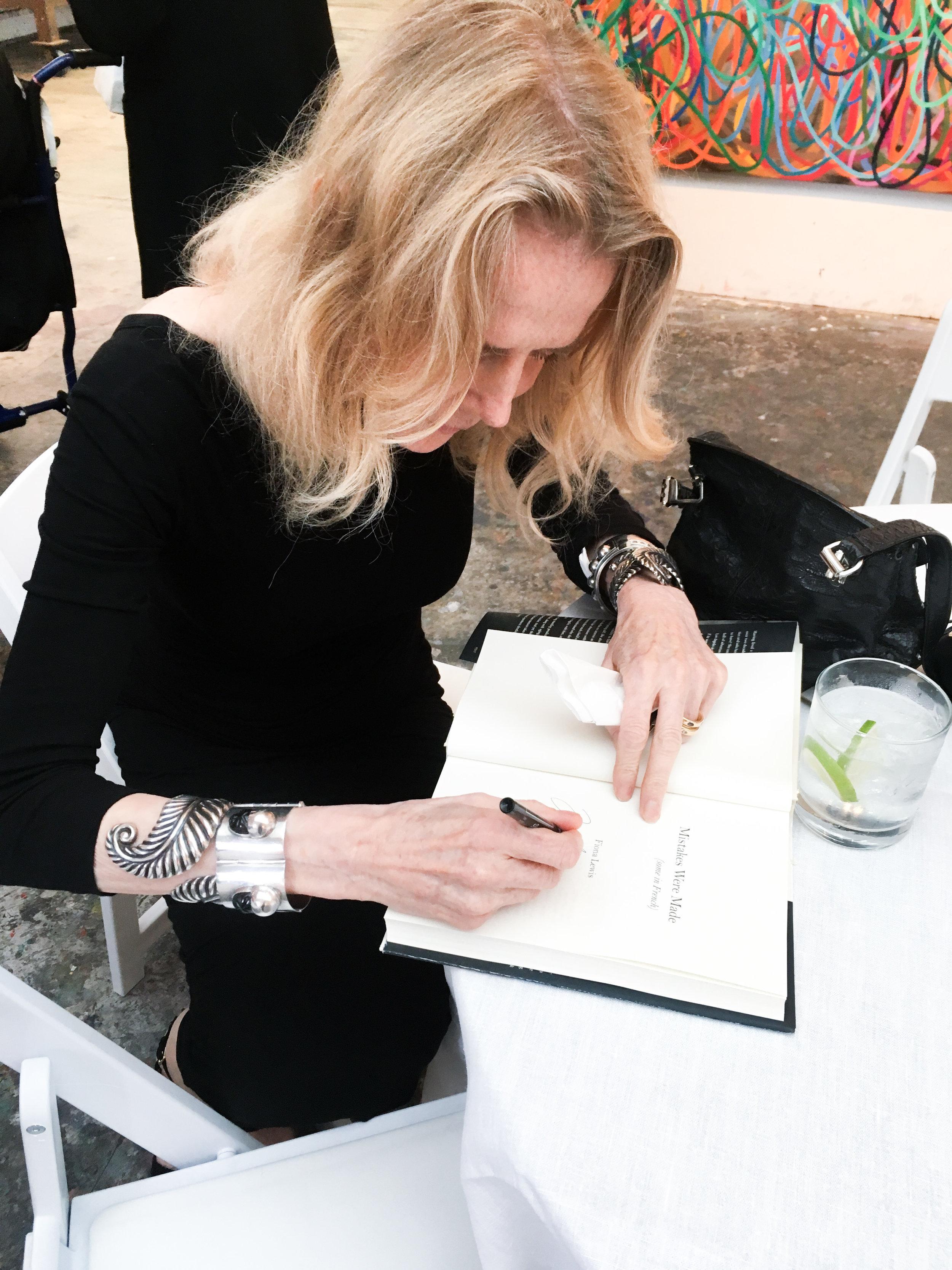 Fiona Lewis & Her Book