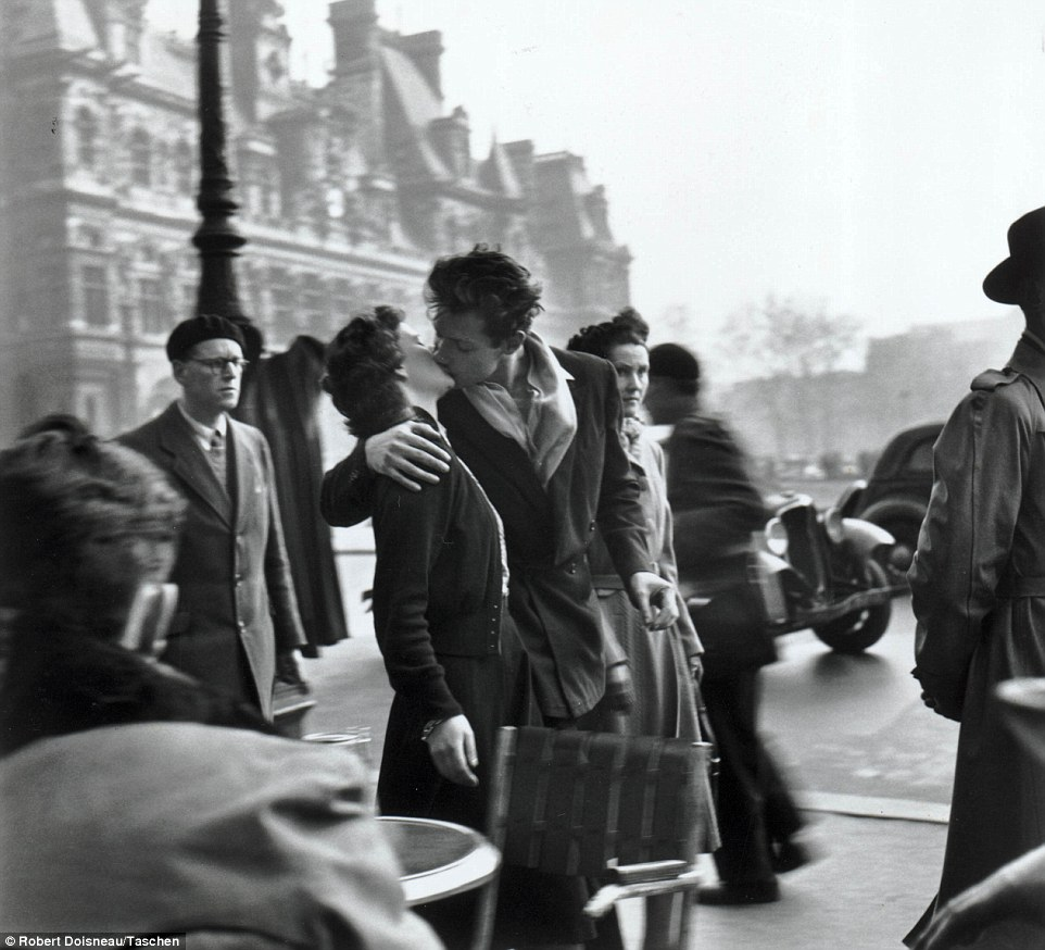 THIS IS WHAT I THOUGHT WE LOOKED LIKE...photo by Robert Doisneau