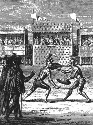 THE FAMOUS DUEL, 1547
