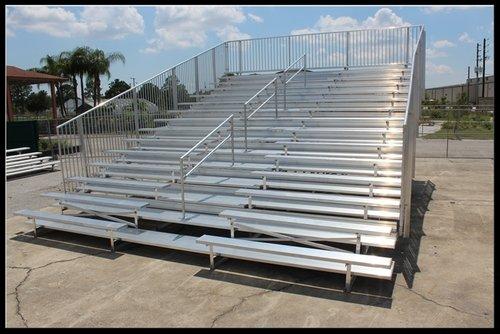 15-Row Aluminum Bleacher Rental
