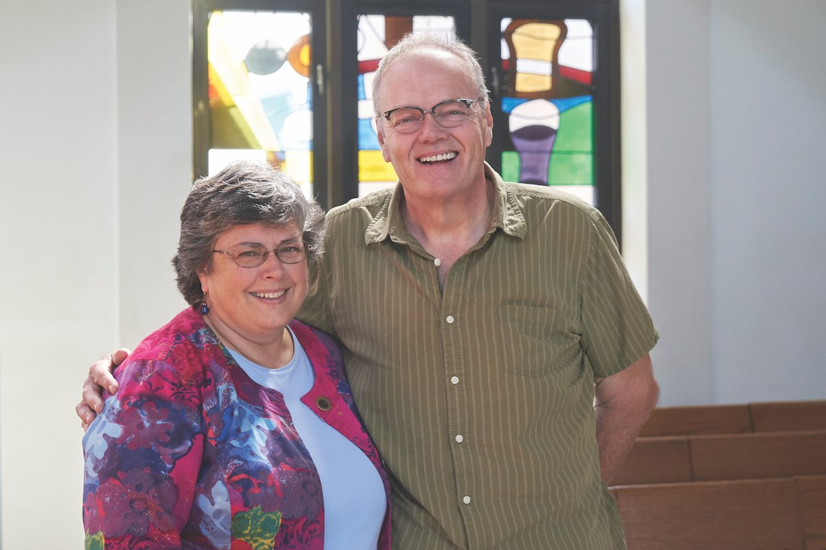 Bread of Healing Clinic Co-Founders: Dr. Barbara Horner-Ibler and Rick Cesar  PHOTO CREDIT: ERIN BLOODGOOD