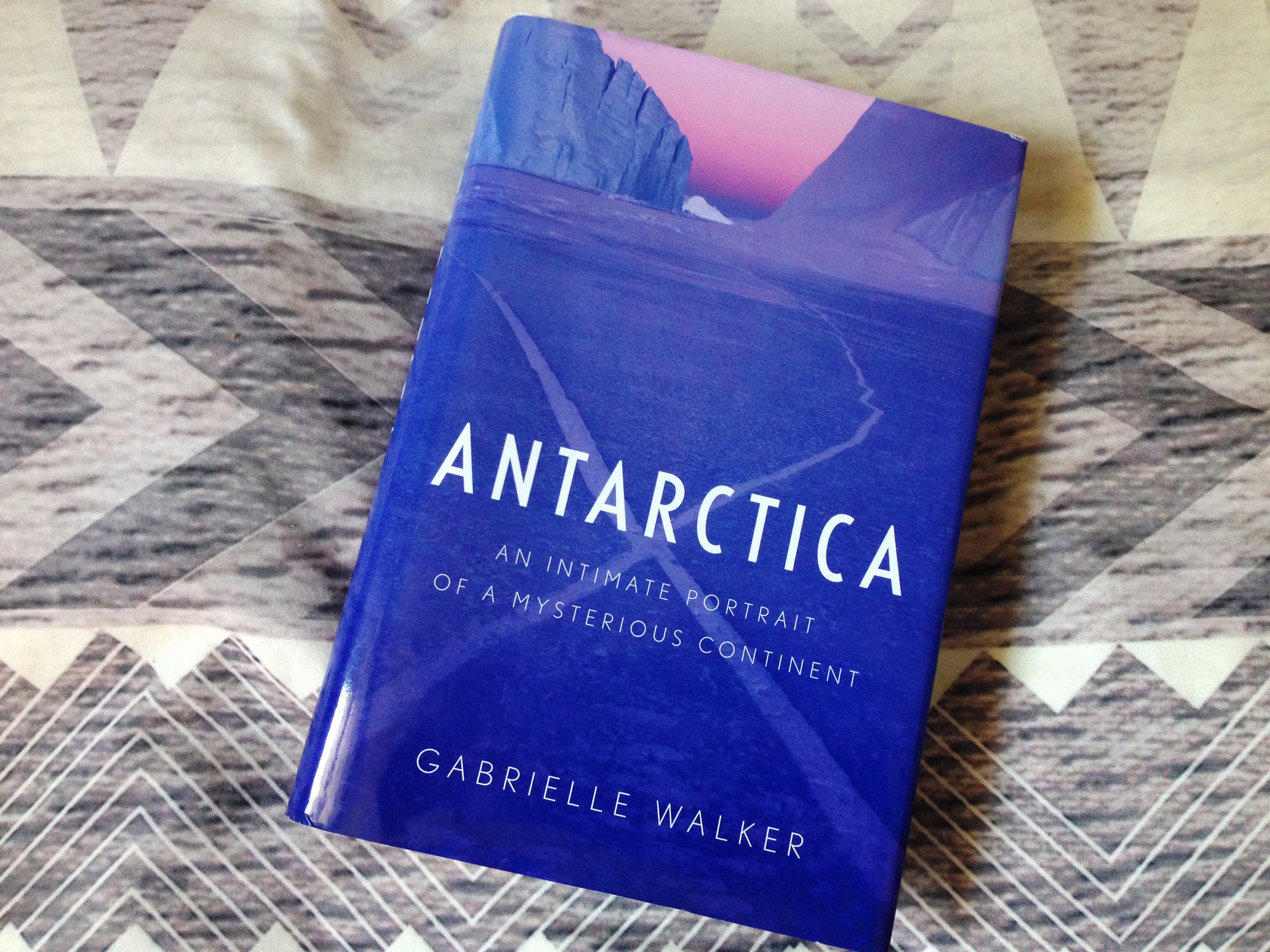 A wonderful Christmas present from my mom. In the past year, I've read seven books about Antarctica.