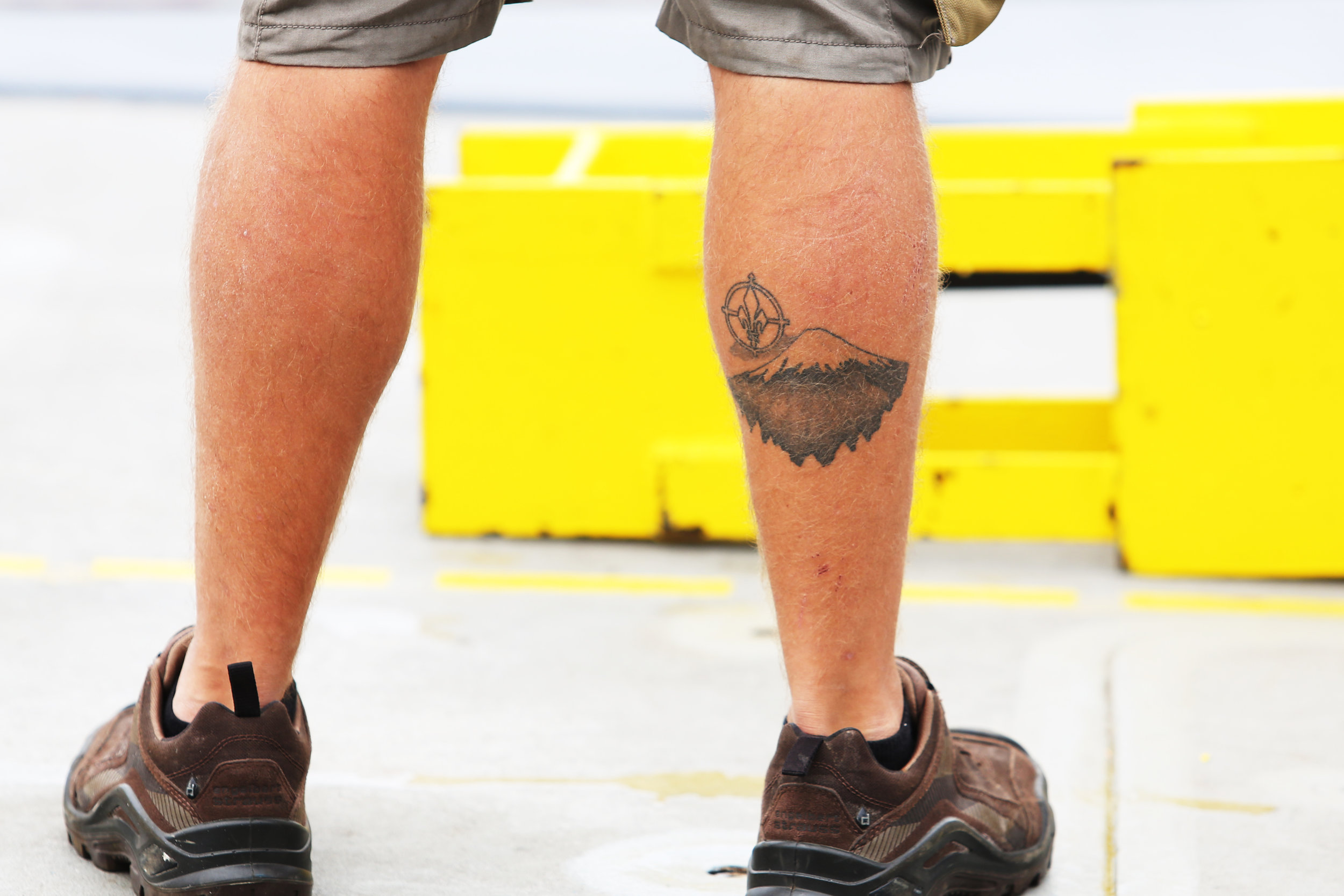 Favorite tattoo on the ship.