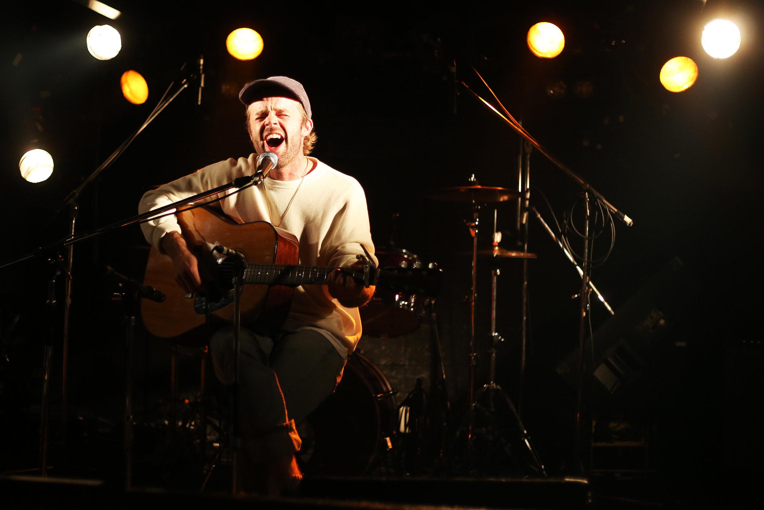 Pat Hull performing at Neverland in Nara, Japan.