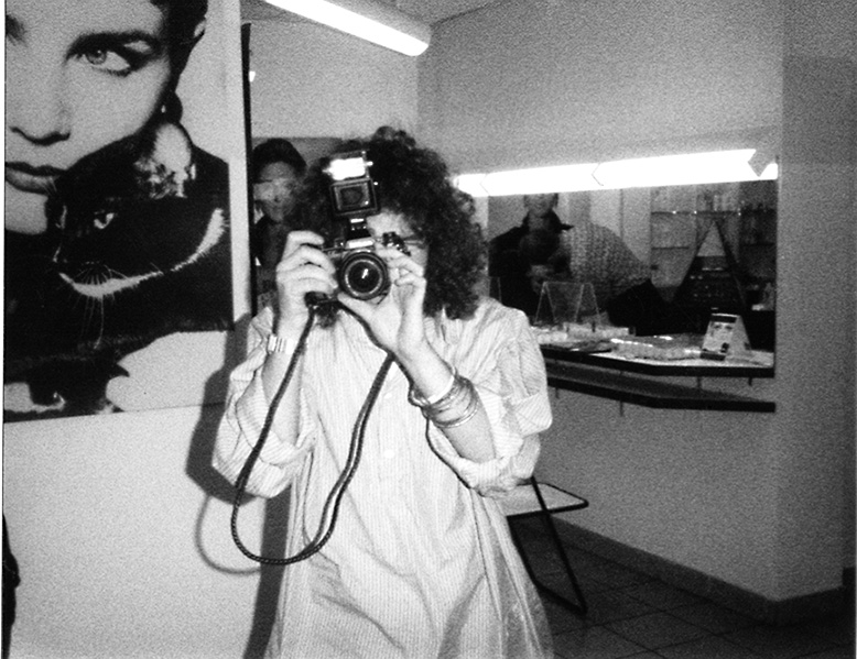 Michael with camera