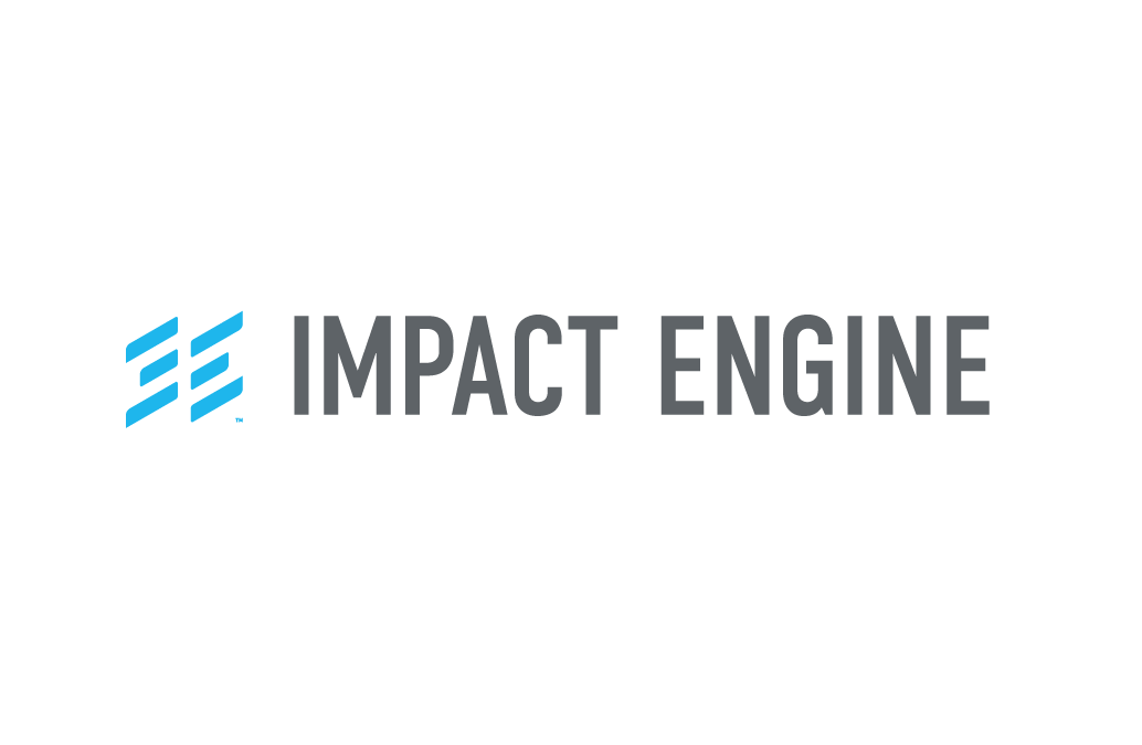"Combining the letters ""I"" and ""E"" with the Chinese trigram  Lí —meaning ""fire""—resulted in a compelling identity for the Impact Engine, an accelerator for social-good-driven startups, which acts as a crucible to create economically viable businesses to solve social challenges.  Learn more  >"