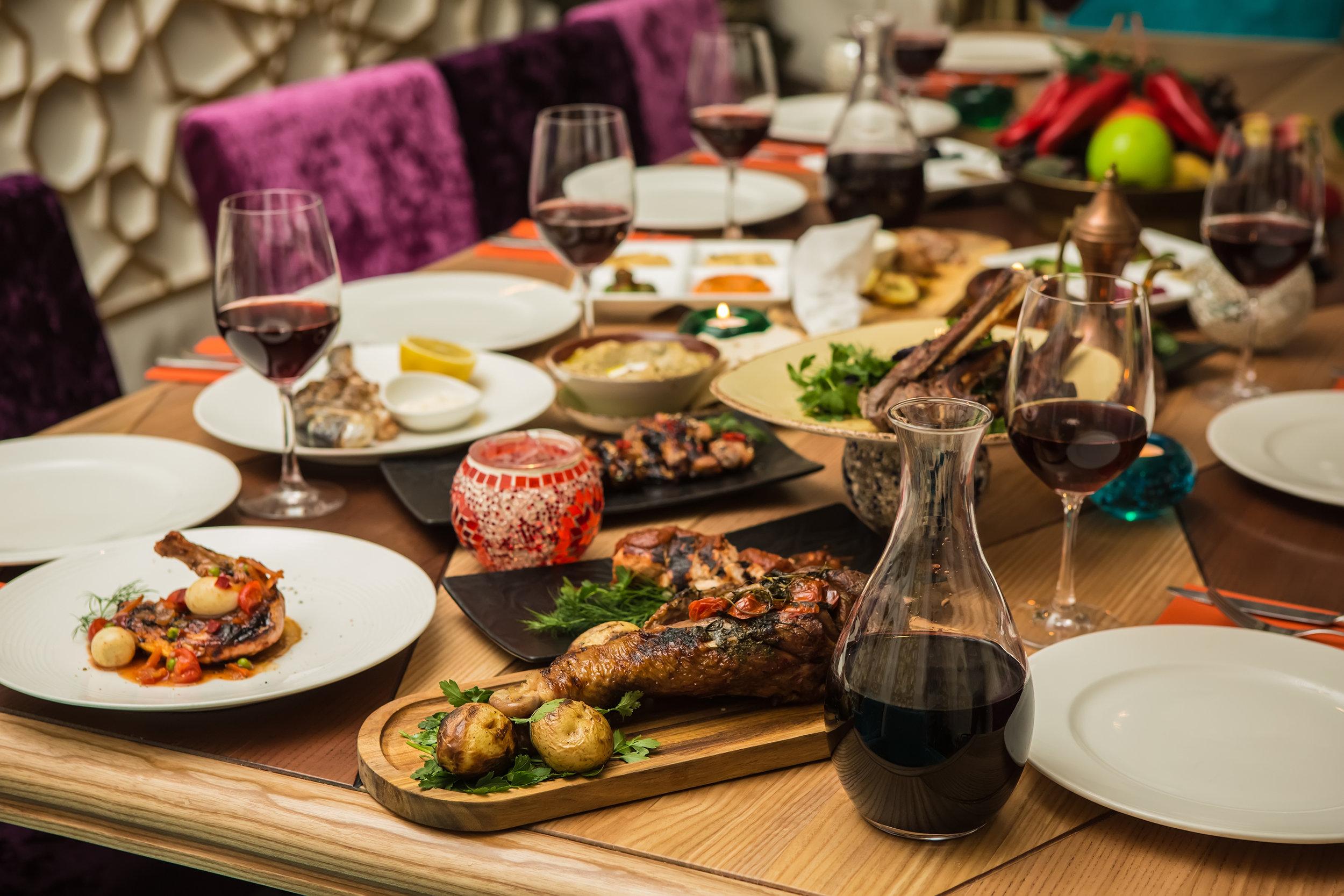 gourmet dining Total Travel Destinations