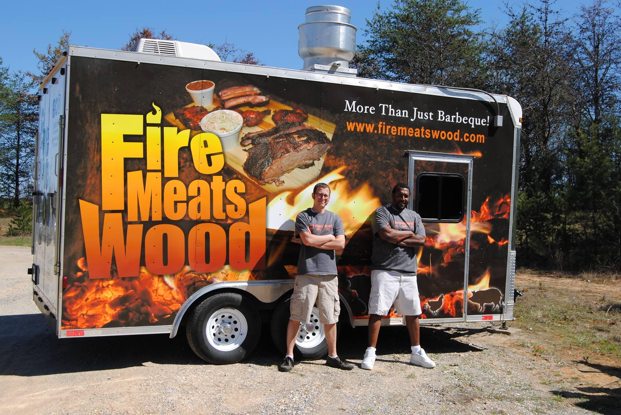 Fire Meats Wood