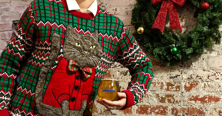 The Ugly Christmas Sweater Party.Ugly Christmas Sweater Party Common Bond Brewers