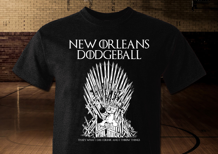 Preview of the Game of Thrones inspired shirt for the Spring 2019 season!