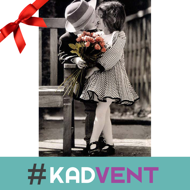 Let your husband or wife know what you remember about your first kiss with them.