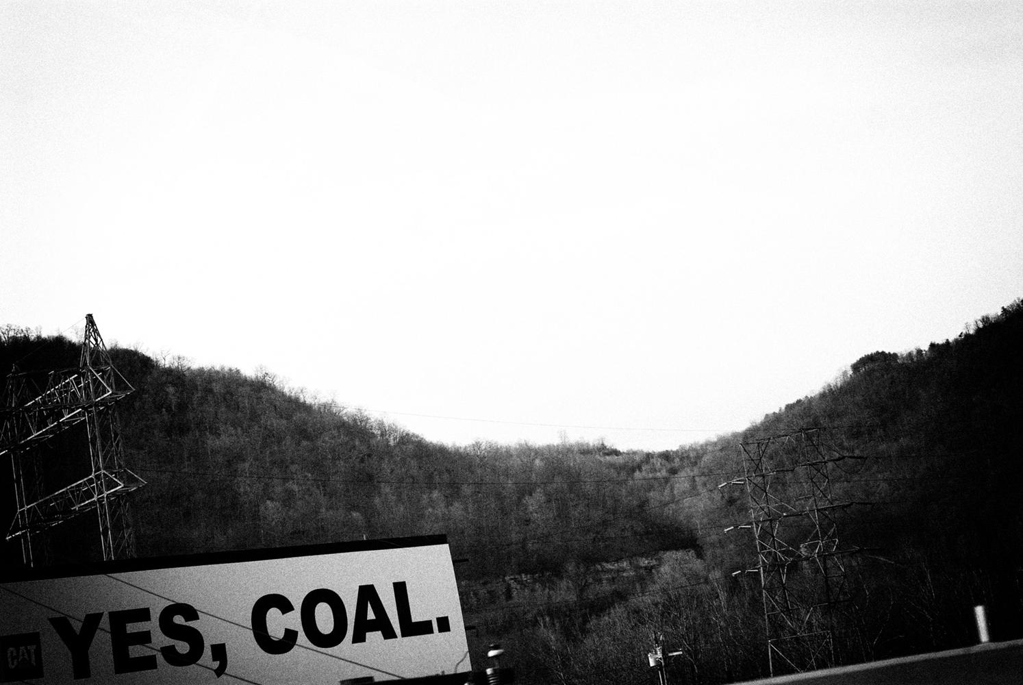 Near Charleston, Kanawha County, West Virginia. March 2008.