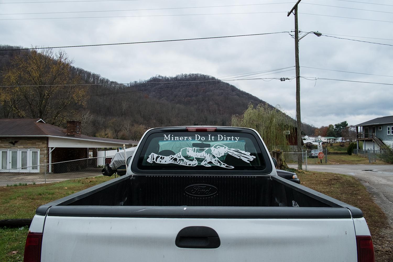 Cedar Grove, Kanawha County, West Virginia. November 2013.