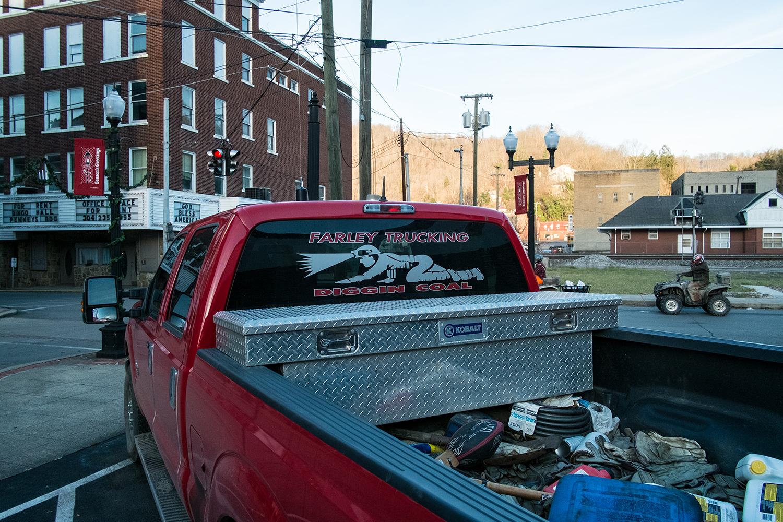 Williamson, Mingo County, West Virginia. December 2013.