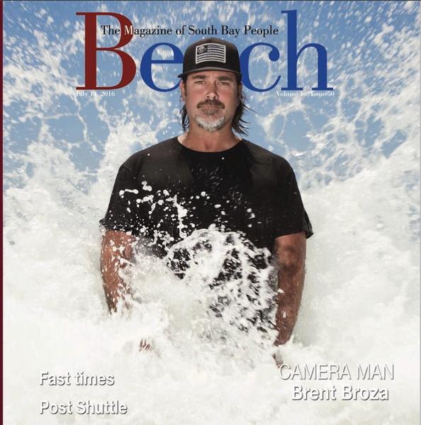 July 14, 2016 - Beach Magazine Cover - Brent Broza