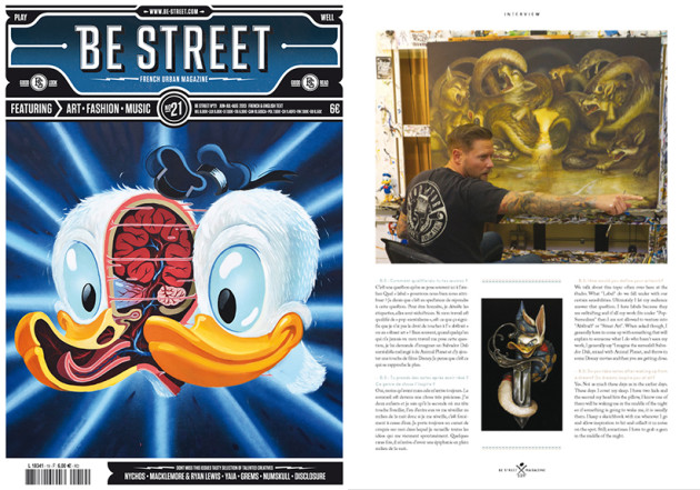 "July 2013, Be Street Magazine – Issue 21, France - Greg ""CRAOLA"" Simkins"