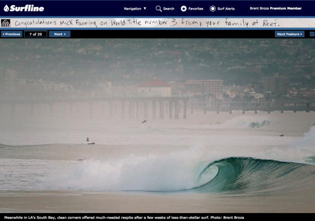 December 20, 2013 - Surfline