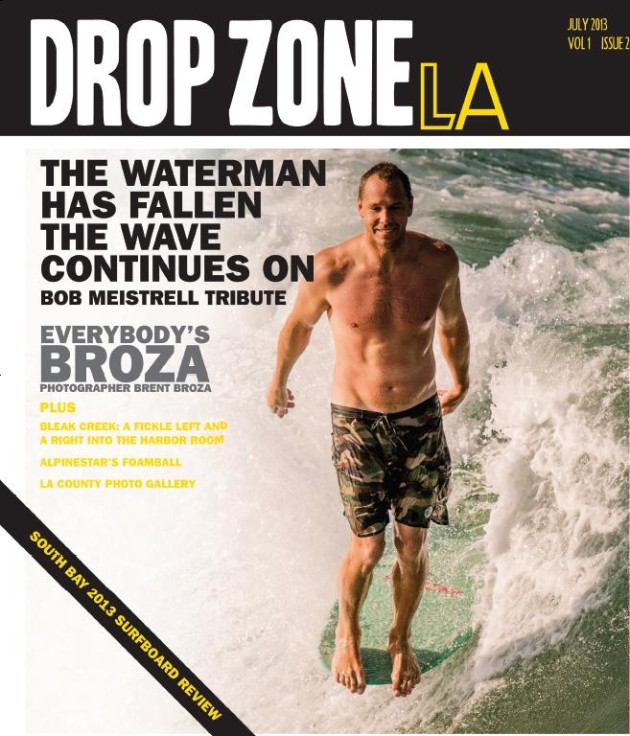 July 2013, Drop Zone Cover - Tyler Hatzikian