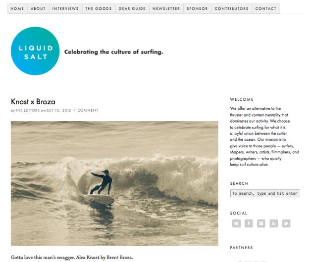 July 10-12-2012 - Liquid Salt Magazine – Knost X Broza