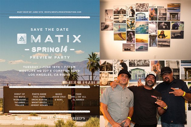 June 18, 2013 - Matix Spring '14 Preview Party – Photo Show