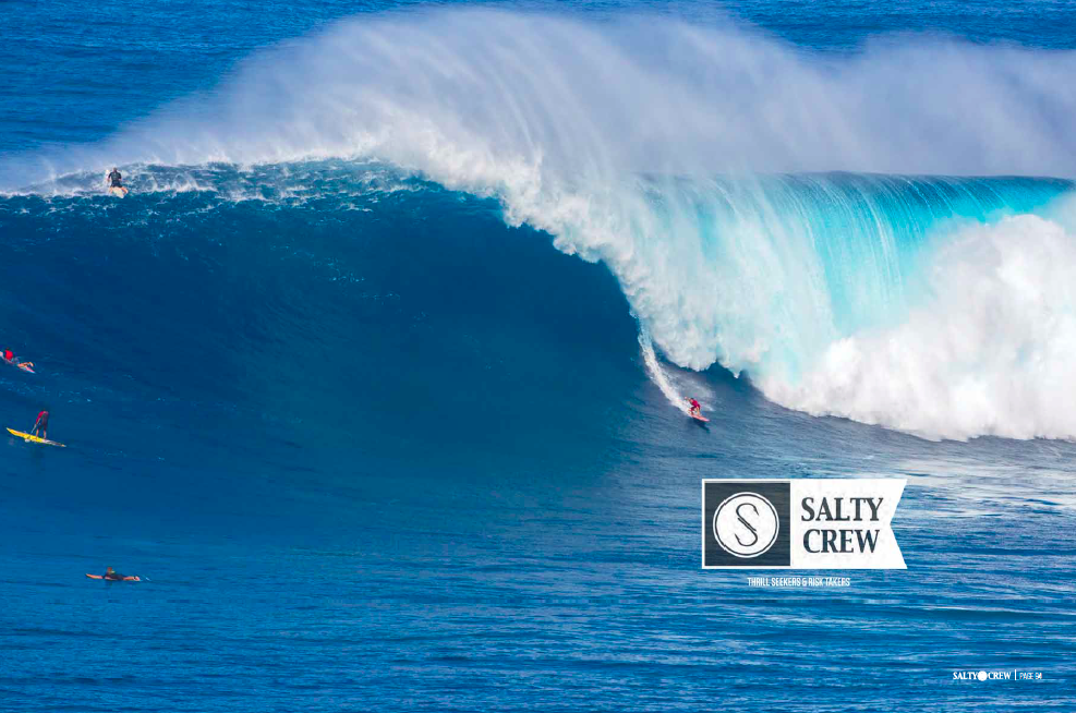 Salty Crew Spring '17 Catalogue Cover - Aaron Gold