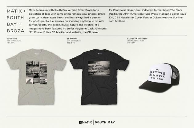 Matix x South Bay x Broza  T Shirt Collab - SOLD OUT