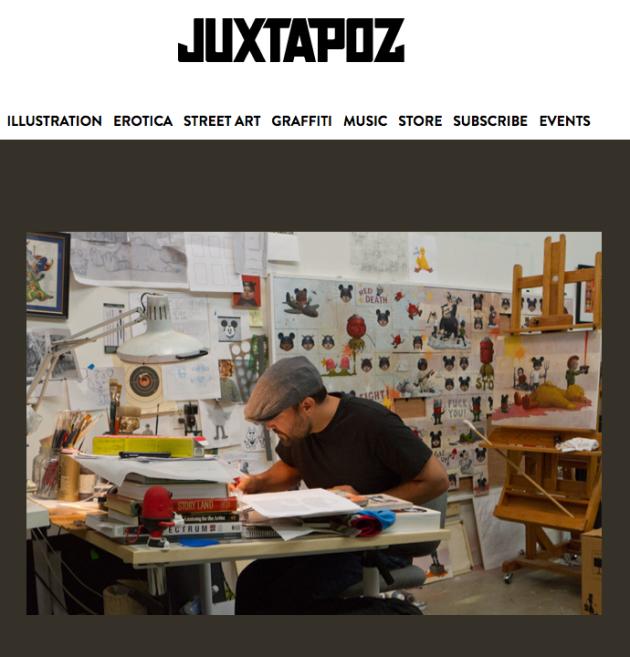 November 2, 2012 - Juxtapoz, Artist Bob Dob