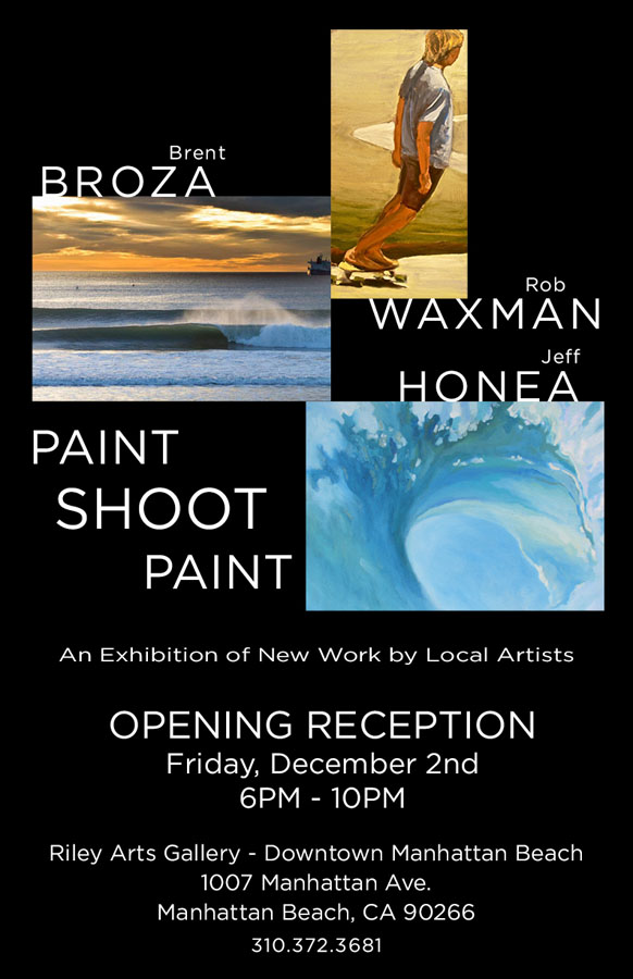 December 2, 2010 - Paint Shoot Paint Art Show, Riley Arts Gallery