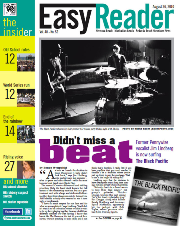 August 26, 2010 - Easy Reader Cover - The Black Pacific
