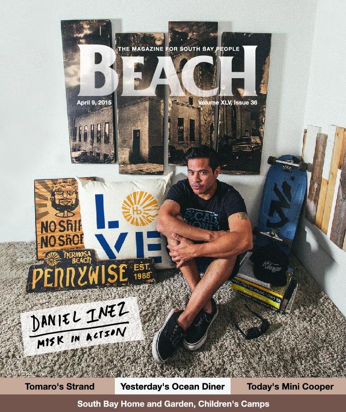 April 9, 2015 - Beach Magazine Cover - Daniel Inez of M1SK