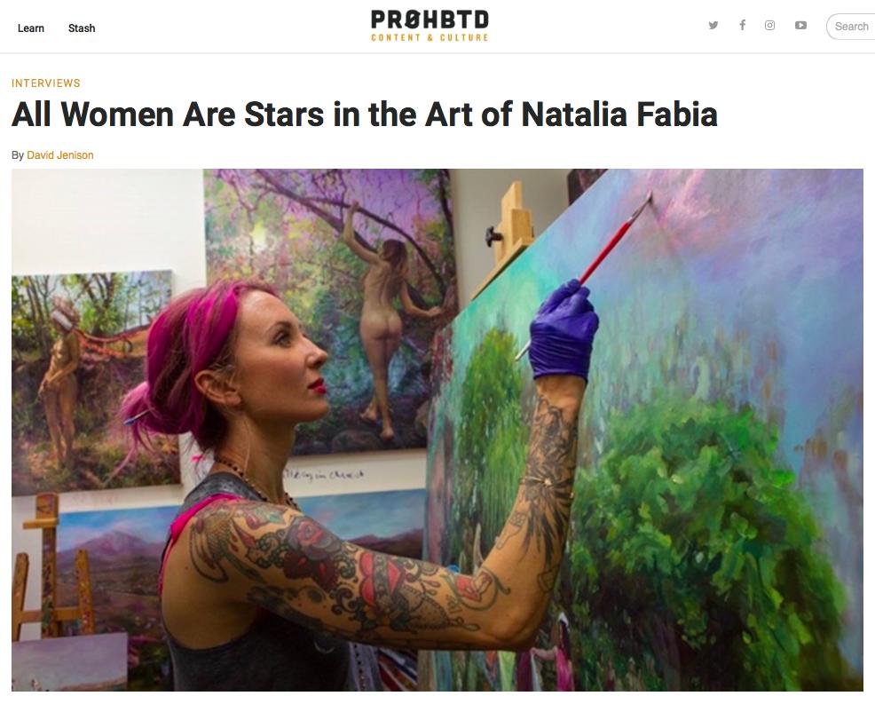 November 4, 2016 - PROHBTD Content & Culture, Natalia Fabia Interview