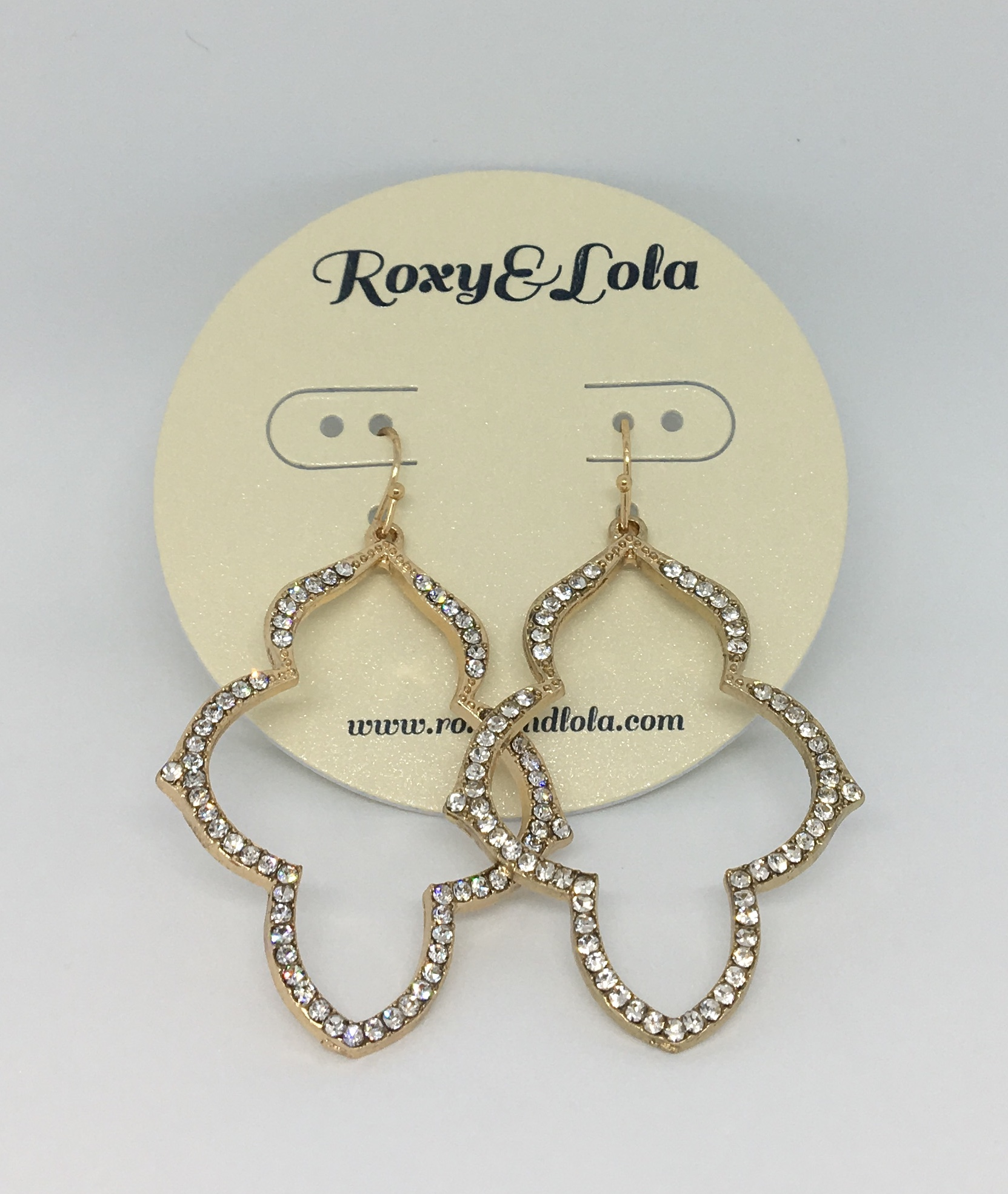 Aziza Earrings (Gold) - $24