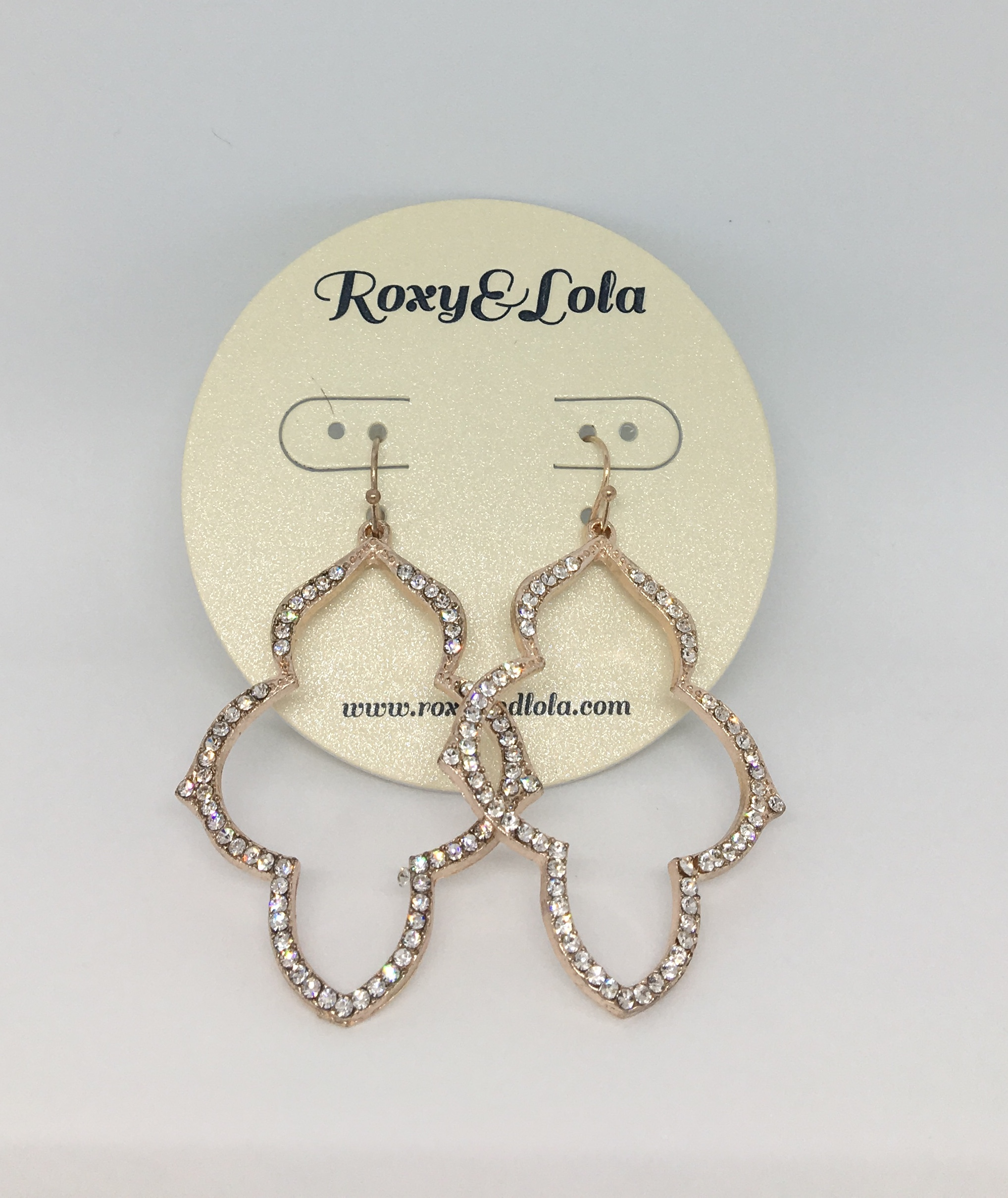 Aziza Earrings (RG) - $24