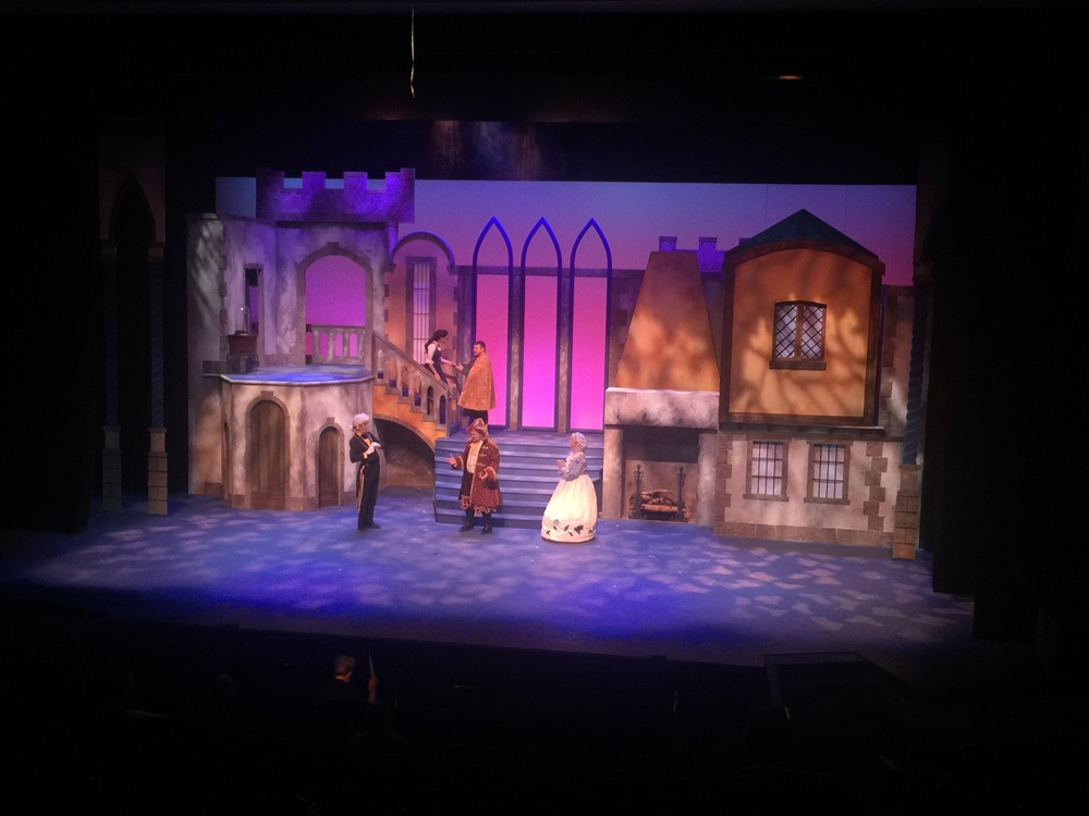 Set Construction For Beauty And The Beast Musical In Colorado Enigma Concepts Design