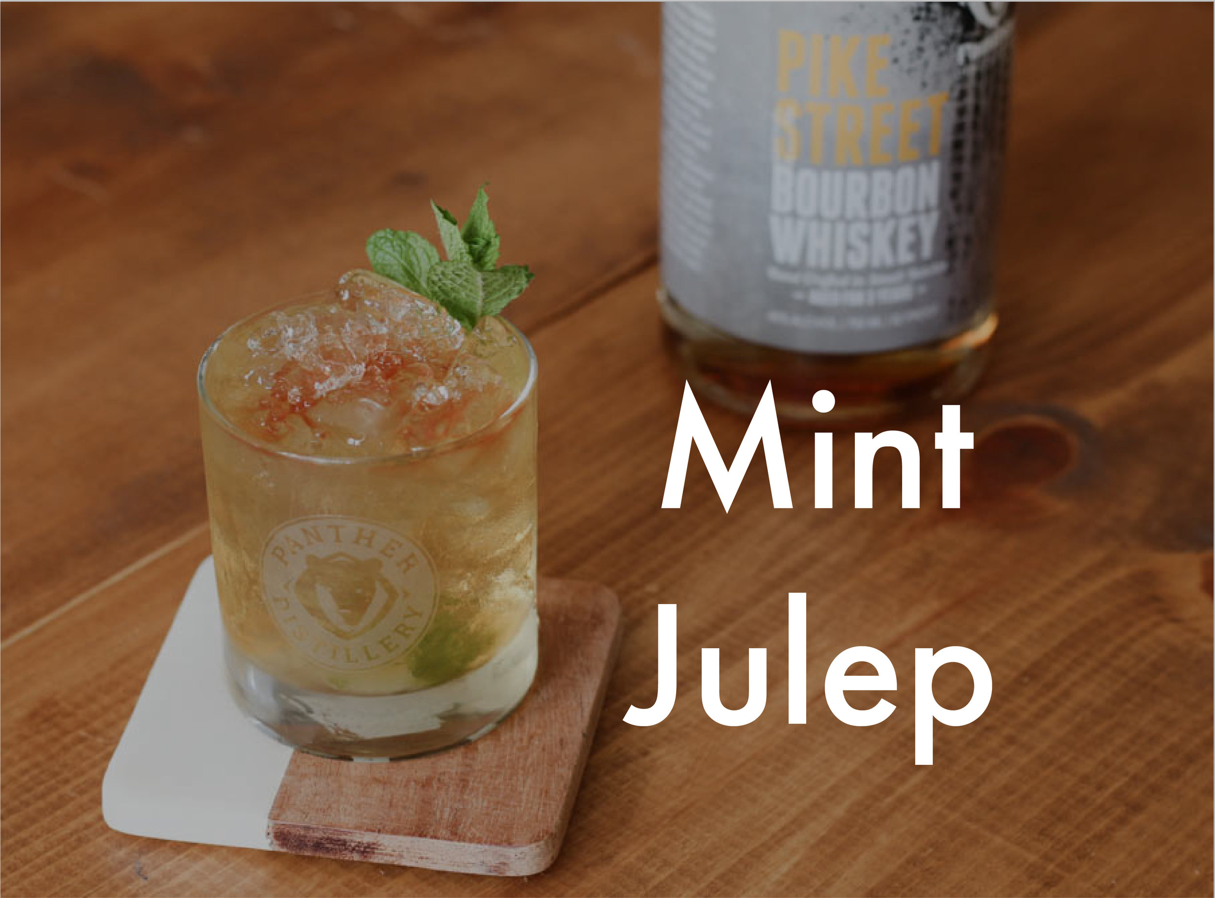 Mint Julep Panther Distillery