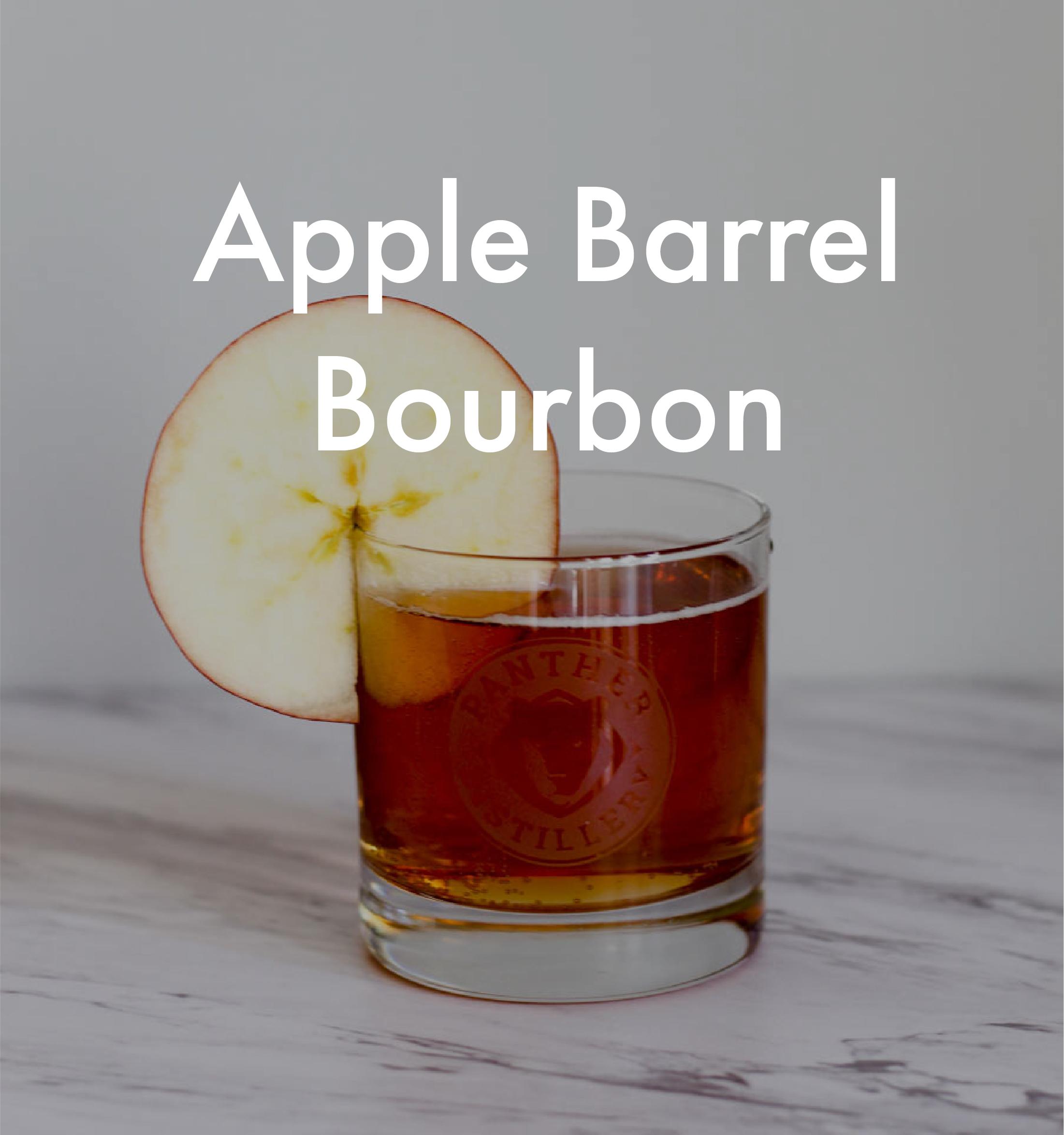 Apple Barrel Bourbon Cocktail