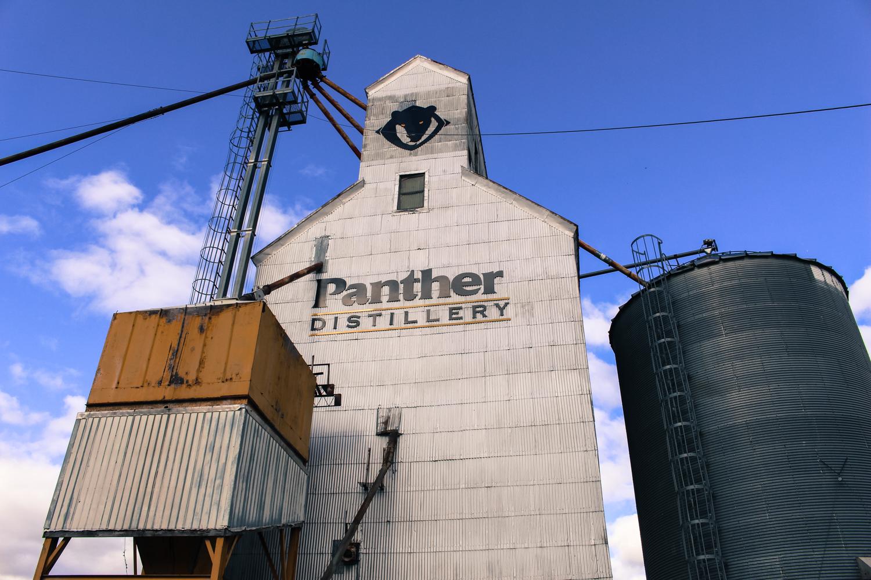 Grain elevator Panther Distillery