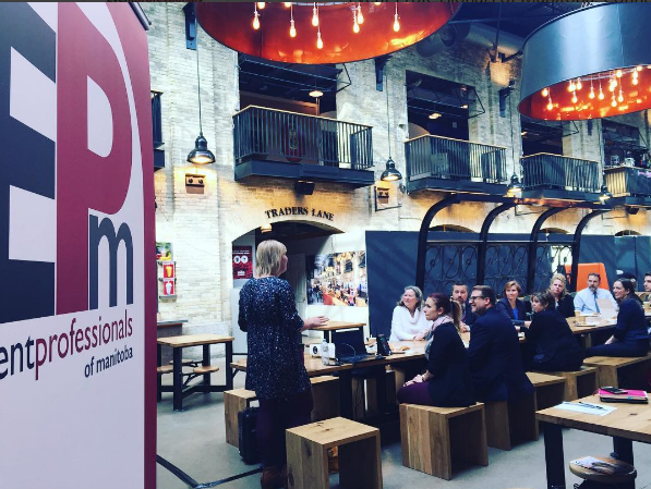 The Commons at the Forks hosted EPM for a chat with Freeman AV