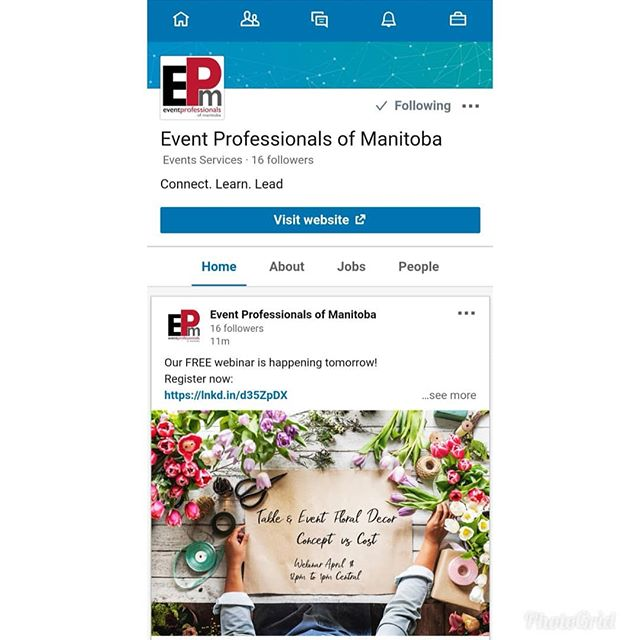 Did you know we have a @linkedin page? Follow us for another way to stay up to date on all our events!  #epm #eventpros #eventprosmanitoba #eventprofessionals #eventproswinnipeg #winnipegevents #manitobaevents #winnipeg #manitoba #wpg #ywg  #wpgevents #networking #winnipegnetworking