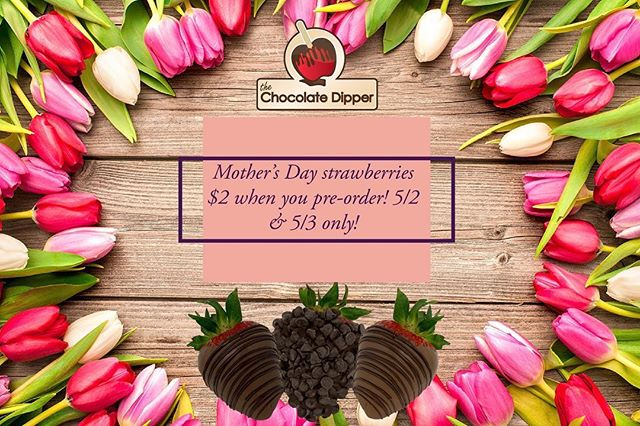 Starting tomorrow we are accepting pre-orders for $2 strawberries. This is ONLY for two days (5/2 & 5/3) after they will go back to $3 each. Pick-ups will be available starting May 8th, make sure to call and pre-order some strawberries for your special mom!🍓🍓🍓🍓Salinas 831-754-1931 Merced 209-626-5650