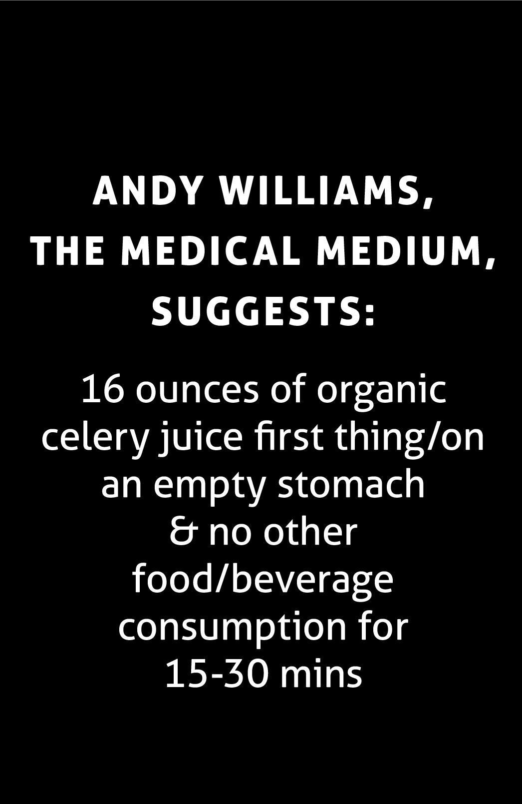 https://www.medicalmedium.com/blog/celery-juice-101
