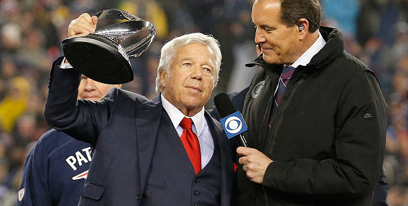 Kraft appeared drunk in his post-game speech, but was he really?