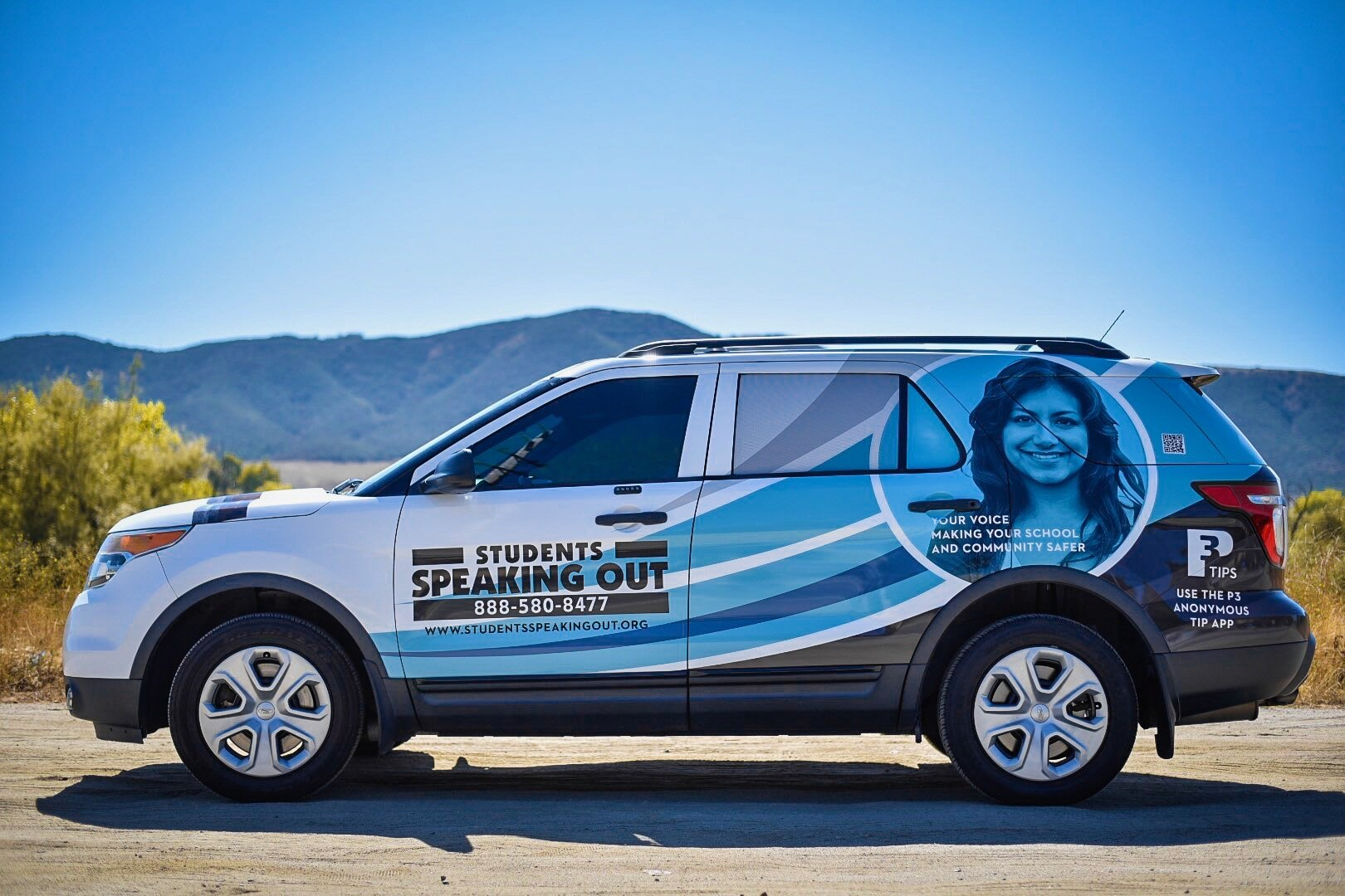 Watch for the Students Speaking Out vehicle at your school.