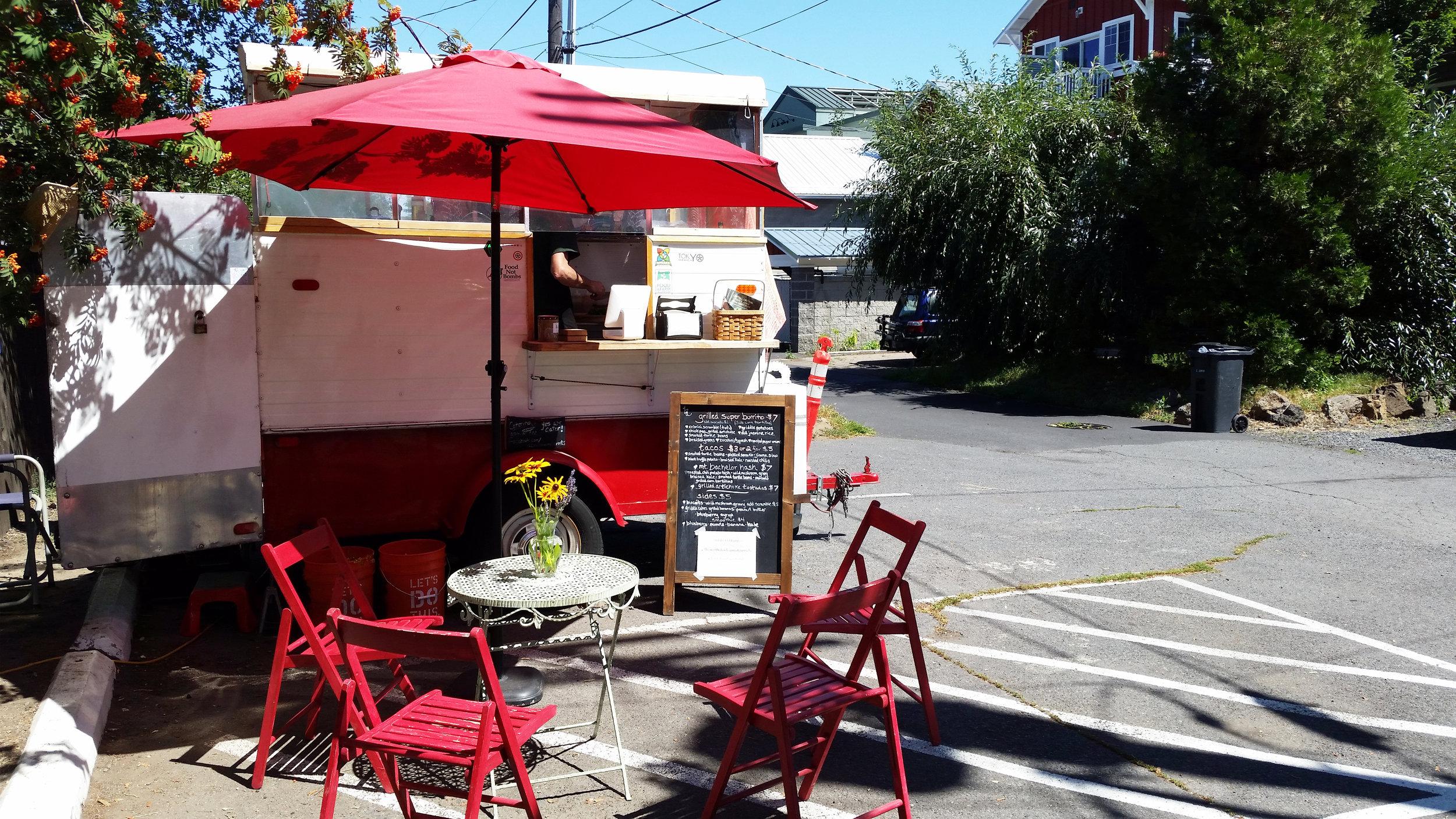 A Broken Angel Food Cart