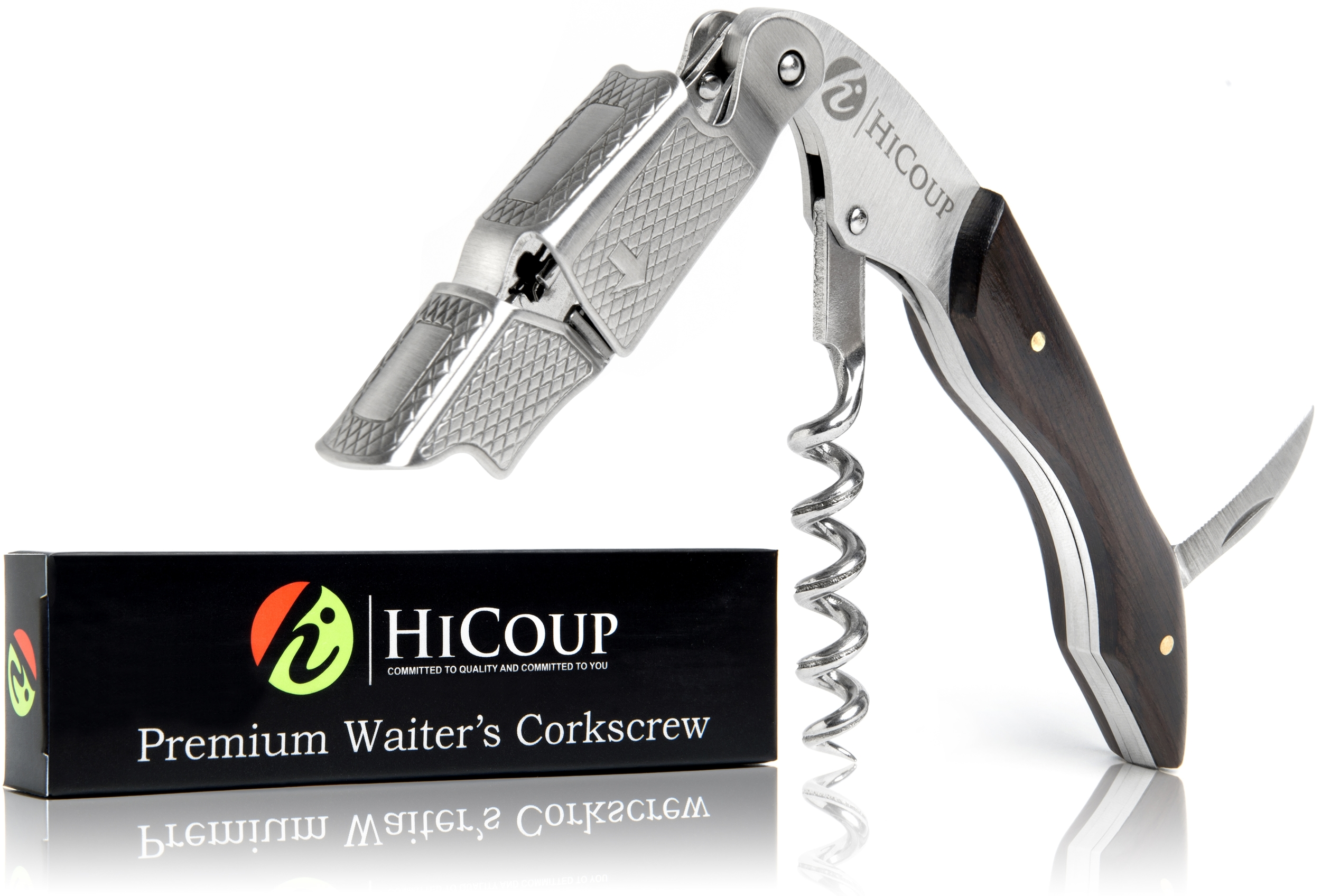 Ebony Wood Waiter's Corkscrew