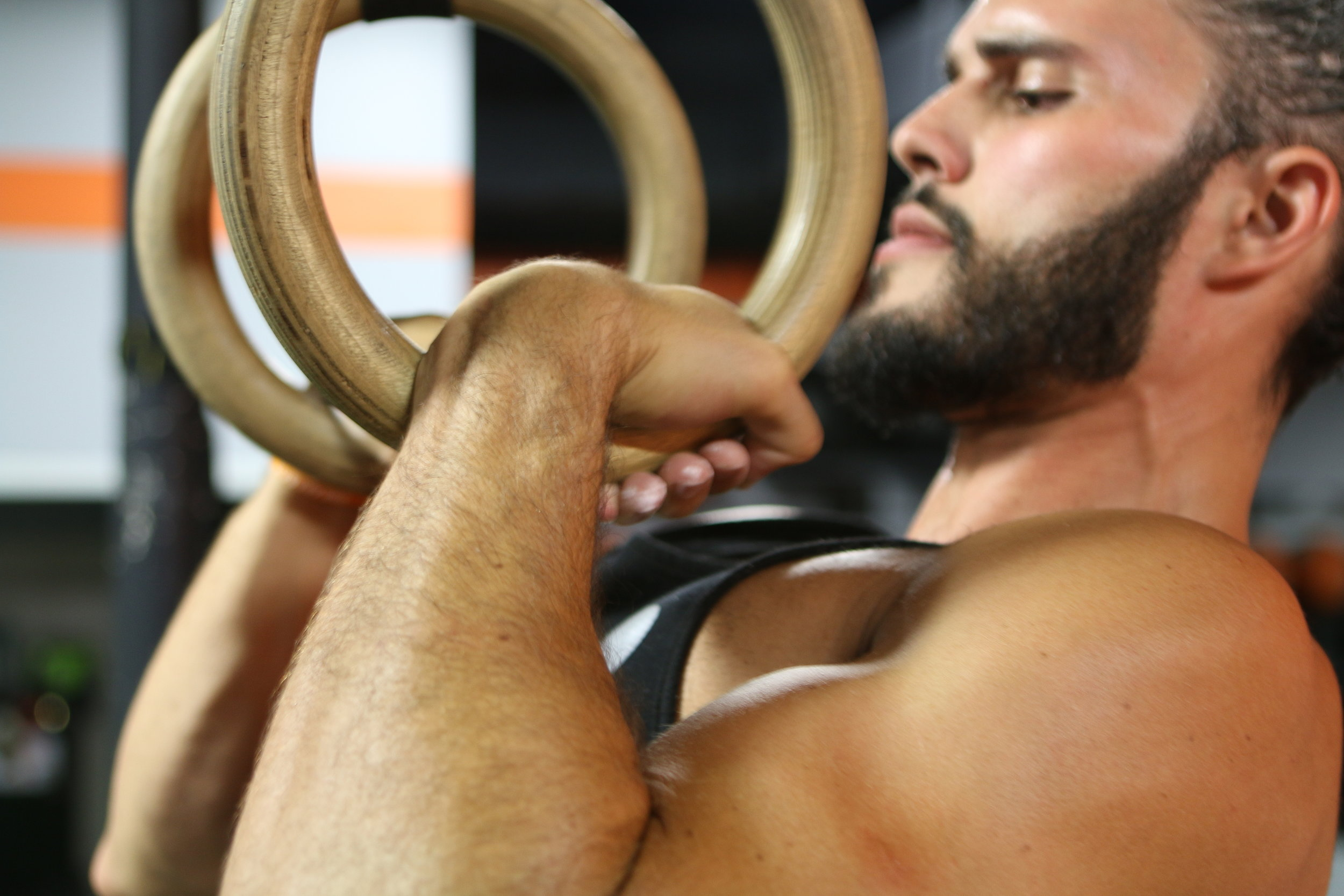 Rings Best Workout Back Biceps
