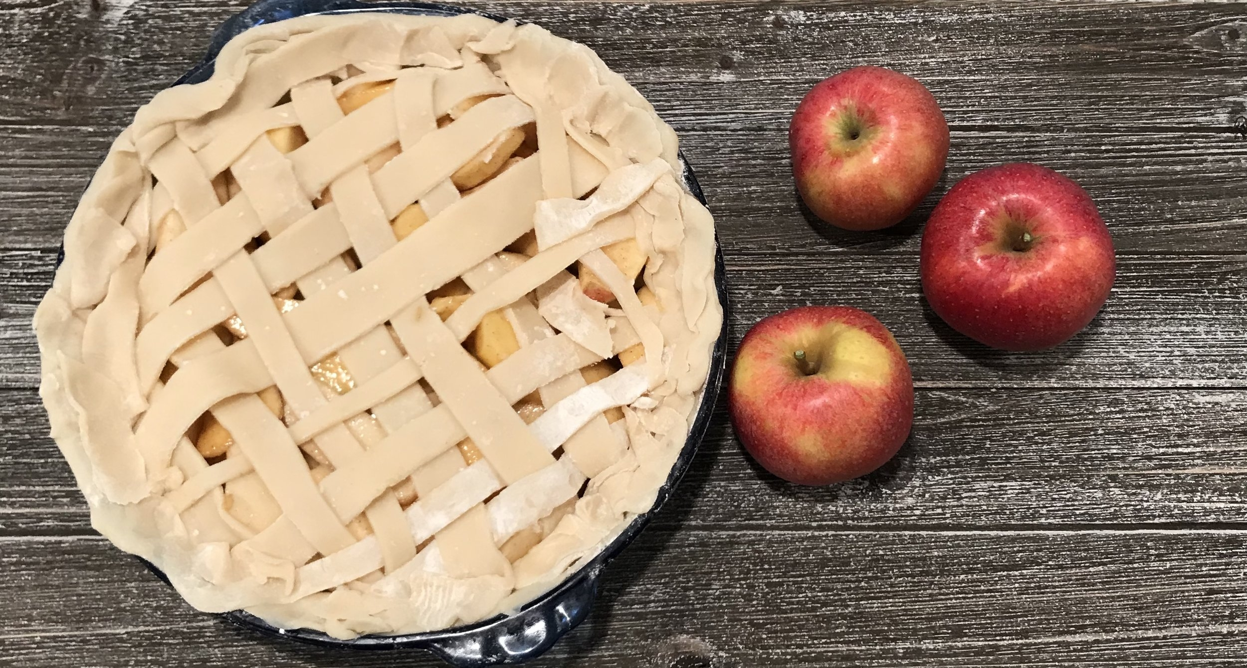 baking temperature and duration can be found on your pie crust box