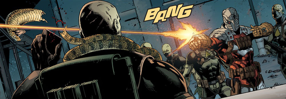 Suicide Squad   #1 by Rob Williams, Jason Fabok, Brad Anderson, and Nate Piekos of Blambot