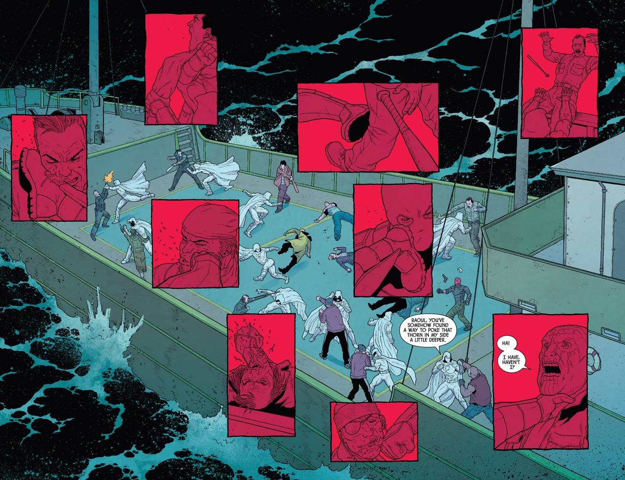 Moon Knight  #192 by Max Bemis and Jacen Burrows